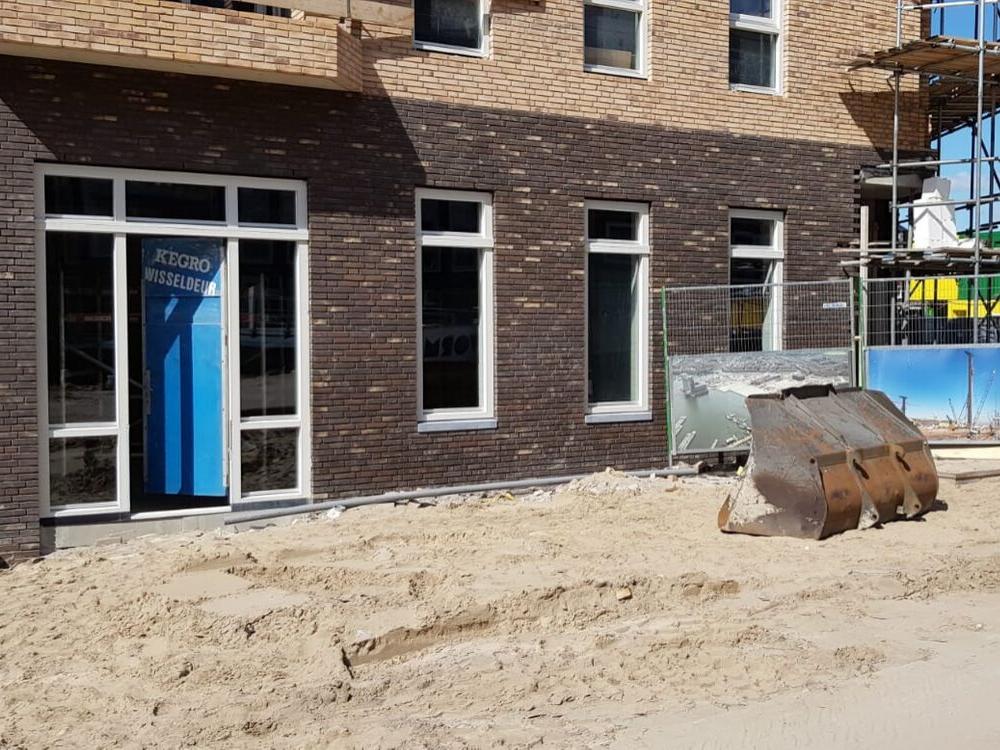 Gezondheidscentrum Nieuwe Houthaven in aanbouw